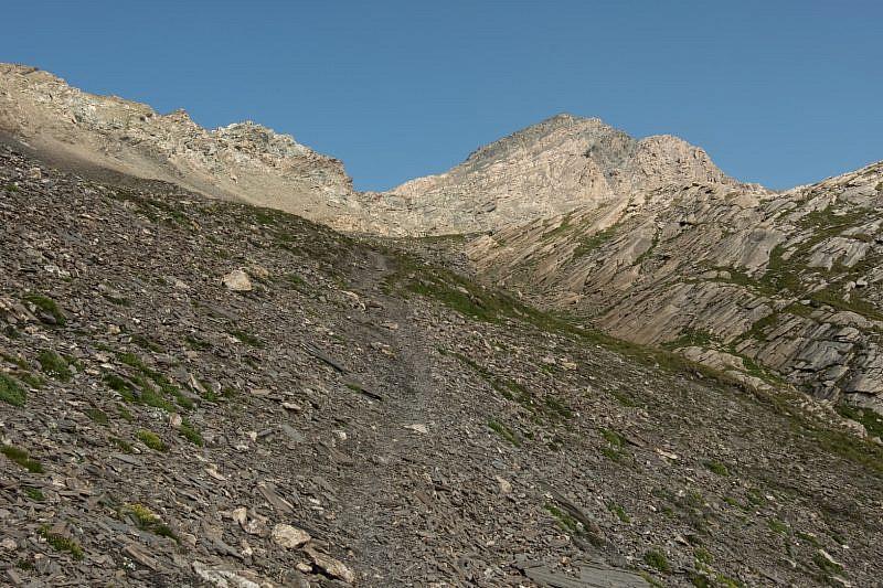 Veduta del Mongioia (destra)