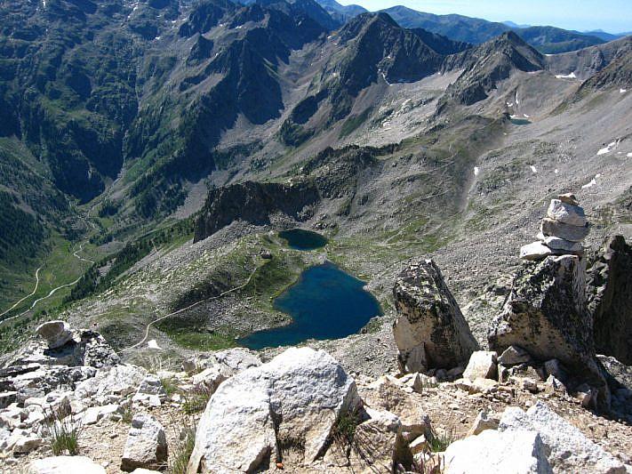 La balconata dei laghi di Fremamorta