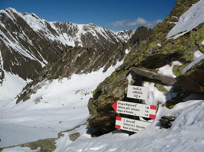Il Passo Laroussa (2471 m)