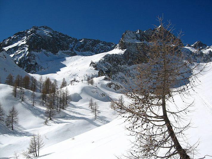Il rifugio Migliorero (2094 m)