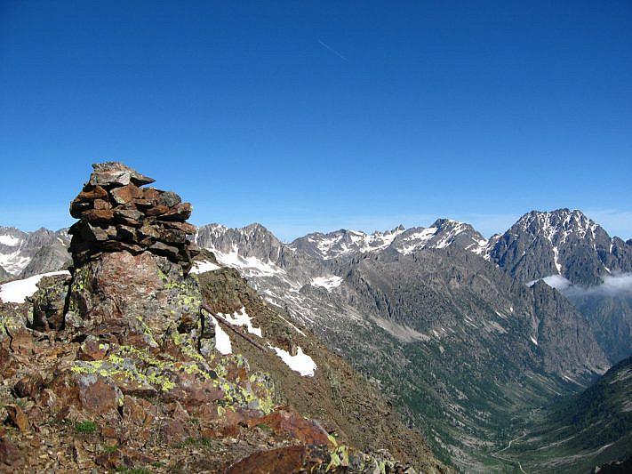 Panorama dalla Cima di Leccia (2673 m)