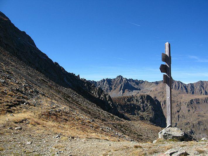 Il colle di Stau (2500 m)
