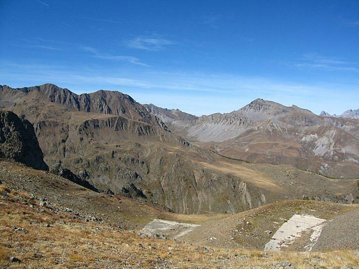 Panorama verso il vallone di Ferrere