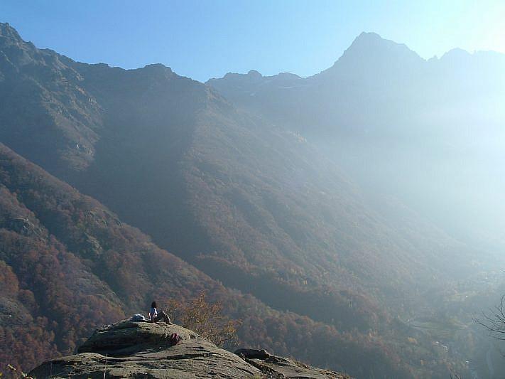 Lo Gorgas, il punto più panoramico del percorso