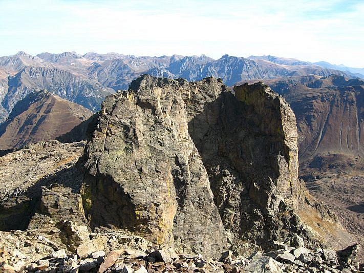 """La vicina """"Testa del Vallone"""" (2970 m)"""