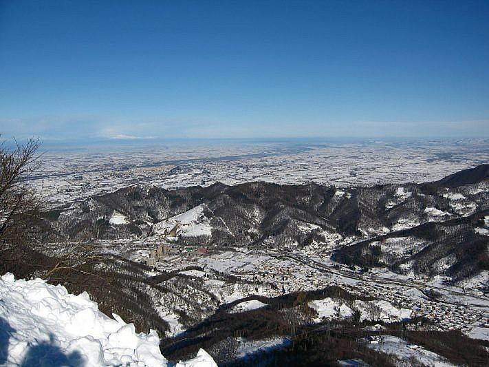 Panorama verso Robilante e la pianura