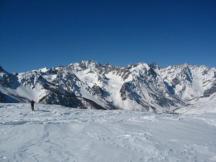 Alcune delle vette oltre i 3000 metri