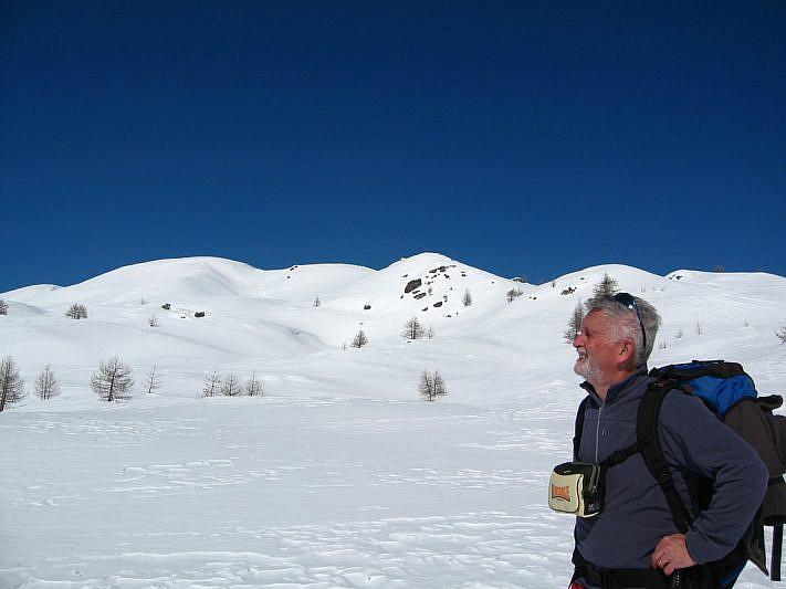 La cima Estelletta sullo sfondo