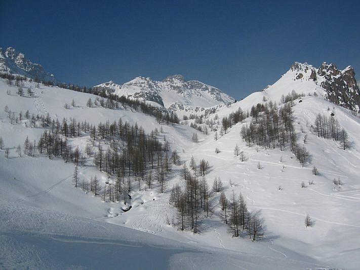 Sguardo verso Monte Scaletta