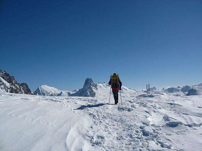 Gianni al passo Gardetta (2437 m)