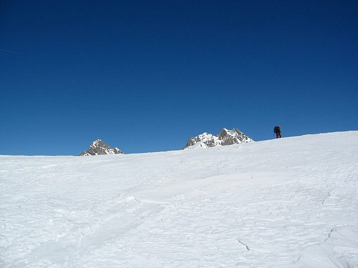 Arrivo sul Col de la Gipière de l'Oronaye