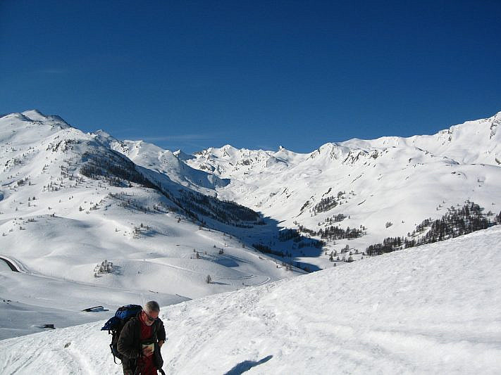Sguardo verso il vallon du Lauzanier