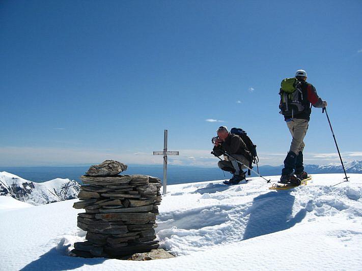 In cima al Monte Crosetta