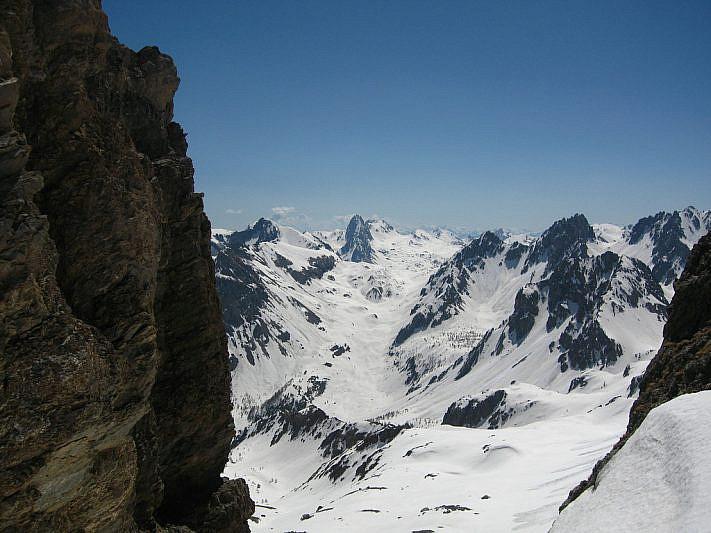 Panorama verso il Passo della Gardetta e Rocca la Meja