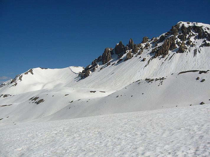 La cima delle Manse (2727 m)