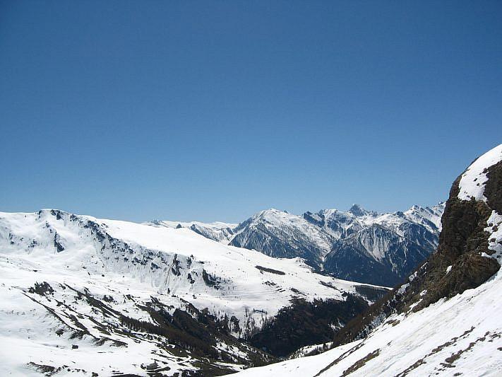 Panorama dal punto più alto che abbiamo raggiunto