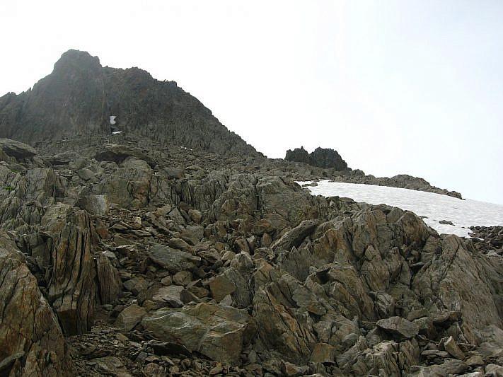 Punta nord di Schiantalà