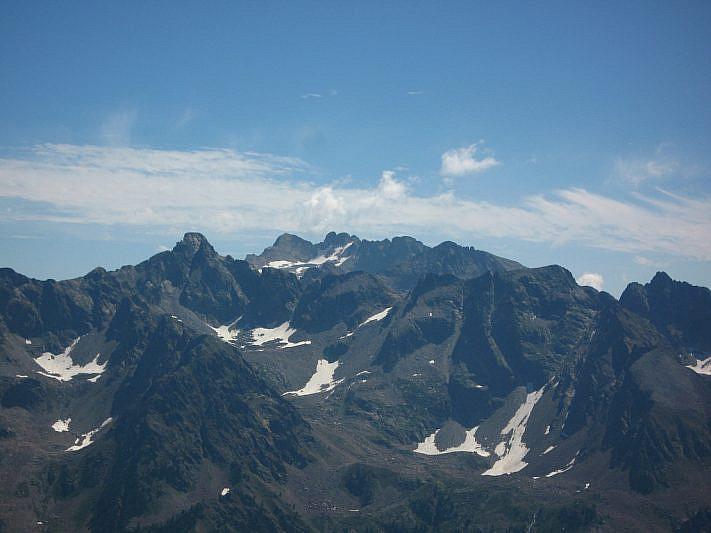 panorama verso il Monte Matto