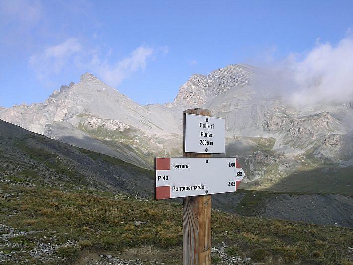 Panorama dal Colle del Puriac