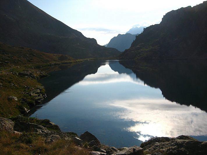 Lago inferiore di Valscura (2274 m)