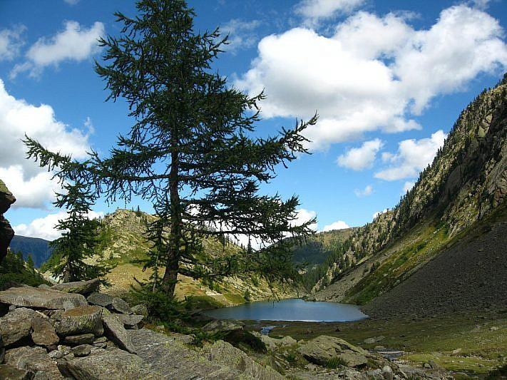 Il lago di San Bernolfo al nostro ritorno