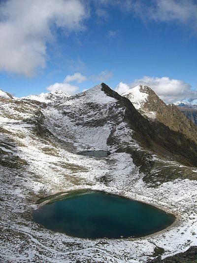 I laghi di Collalunga visti dal passo