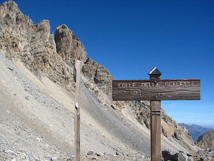 Colle della Scaletta (2614 m)