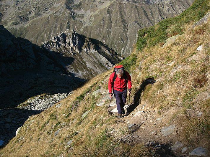 Salita dalla Val Fredda