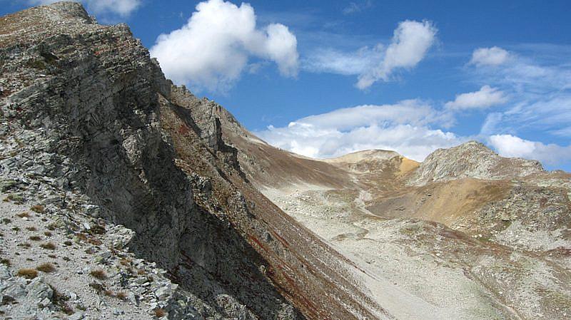 Dal Colle di Rui, veduta di un tratto della Val Fissela
