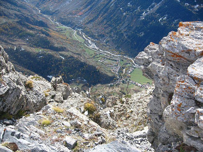 Dalla cima verso Sambuco