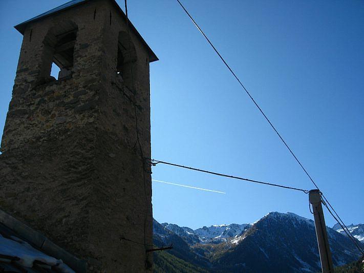 Campanile nella borgata Castello