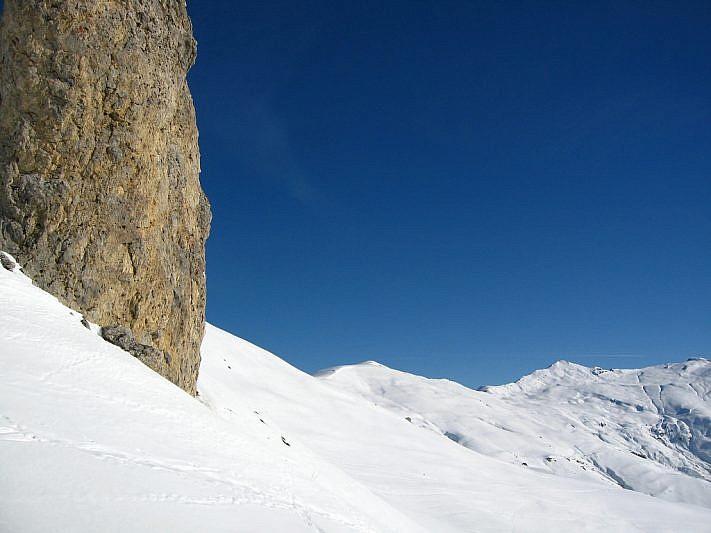 Dalla Pera Puntua verso il Monte Grum