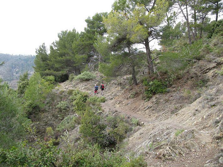 Tratti del sentiero Viravourgio