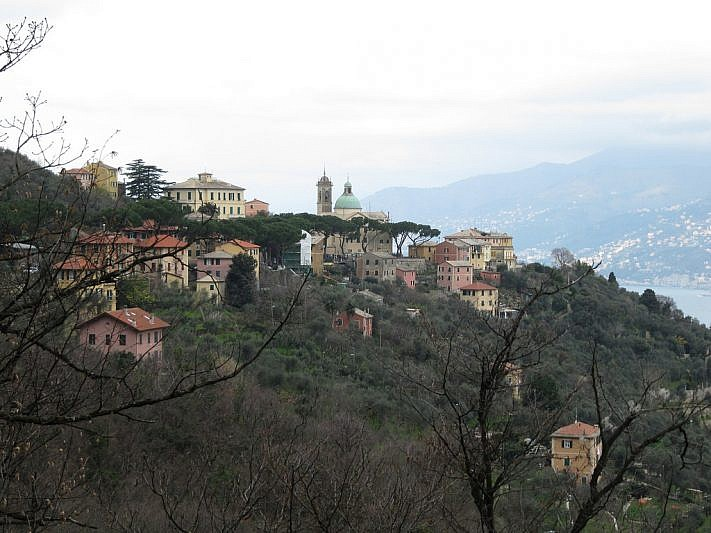 Veduta di San Rocco di Camogli