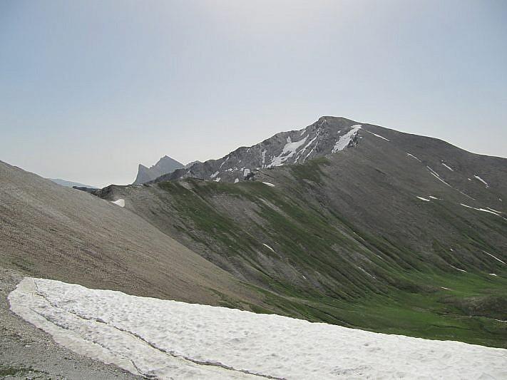 Il Monte Faraut dal rifugio Carmagnola