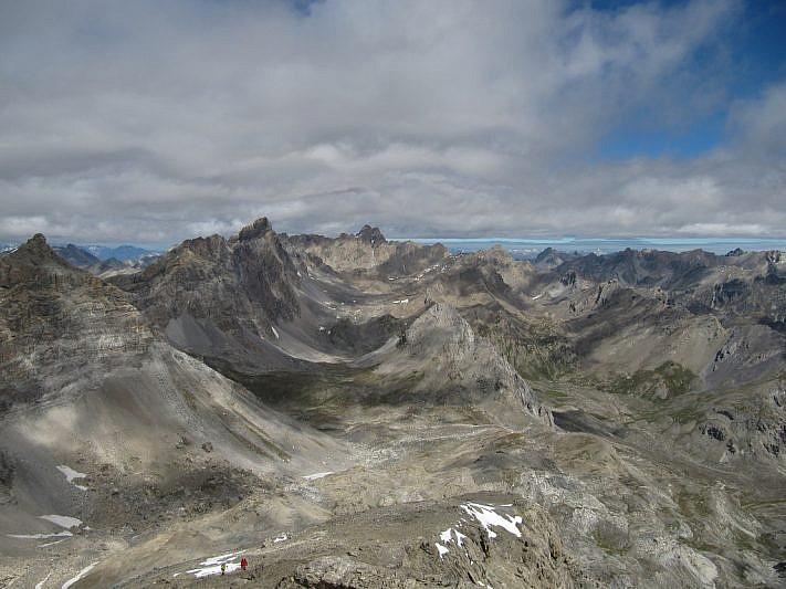 Il vallone di Stroppia dalla cima