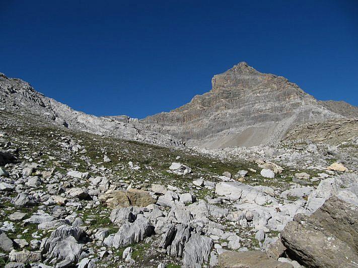 L'ardita vetta della Rocca Blancia