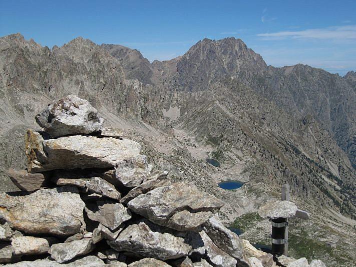 Dalla cima verso il Monte Matto (3097 m)