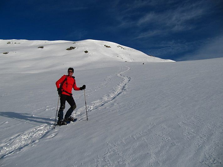Salita verso il monte Riba del Gias (2379 m)