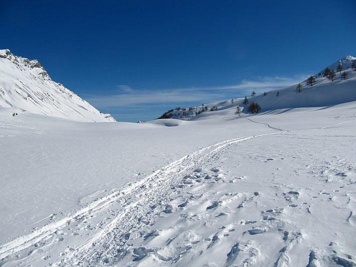Ultimi tratti sulla neve