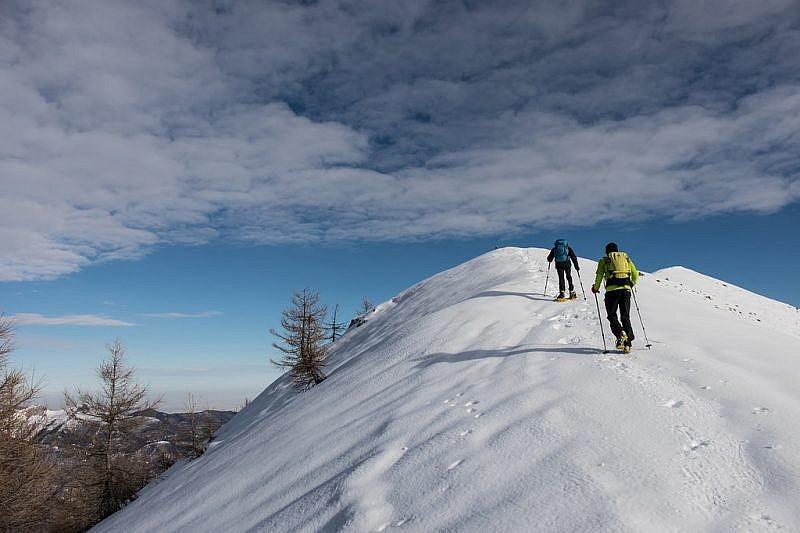 Nei pressi della cima Peirolera