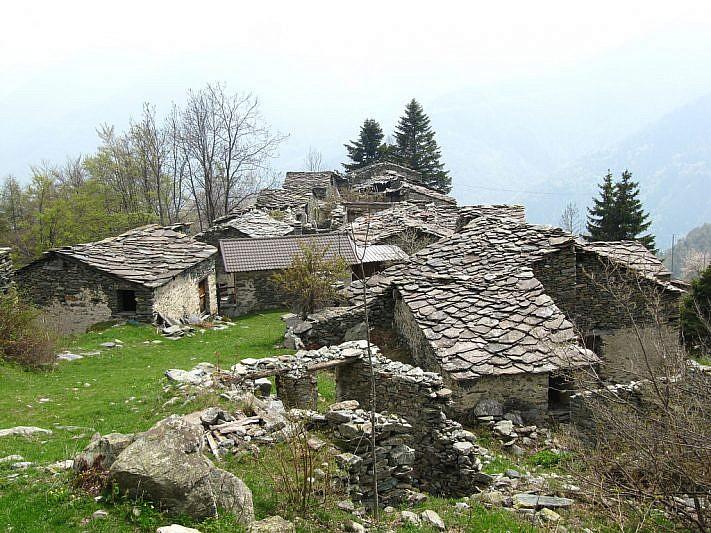Le case del Colletto di Sopra