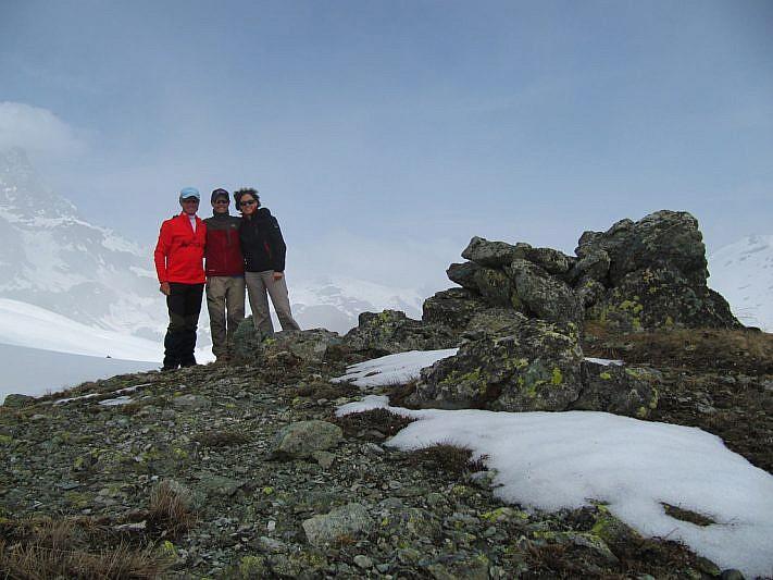 Foto di gruppo sul Colle di Luca