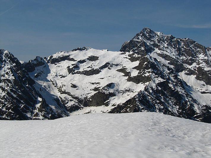 La cima Est del Matto (3088 m)