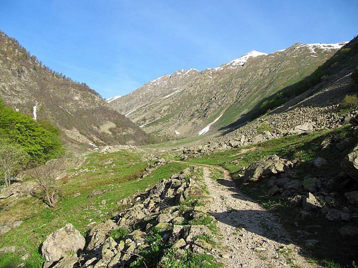 Arrivo al Gias del Prato (1529 m)