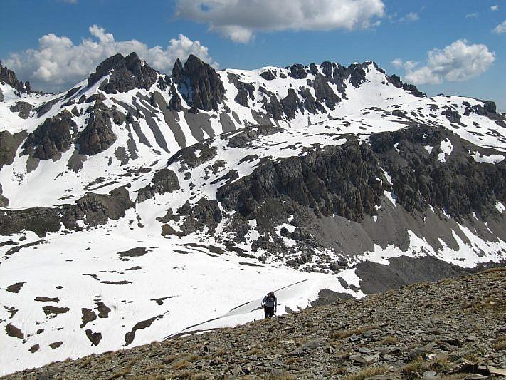 Monte Vanclava in fondo a destra