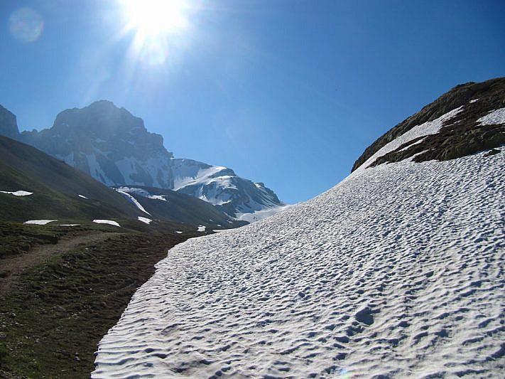 Ecco il Monte Oronaye (3100 m)