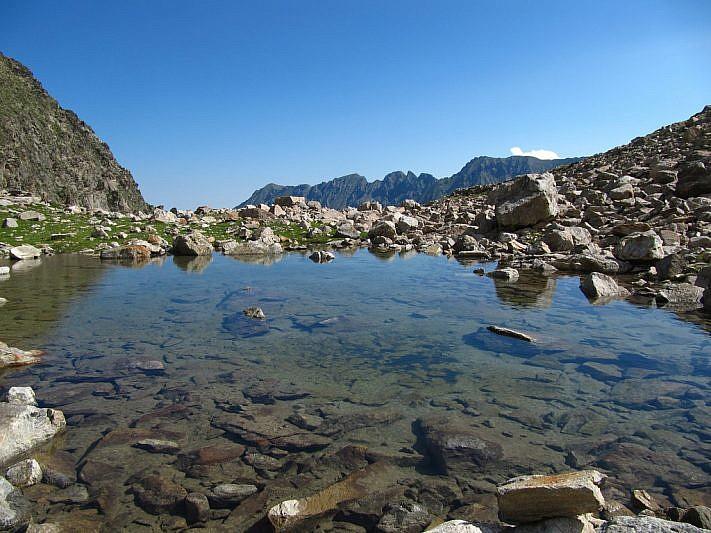 Piccolo laghetto nelle vicinanze del Lago Bianco