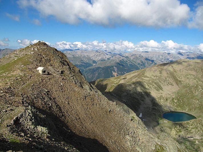 Panorama dalla cima principale