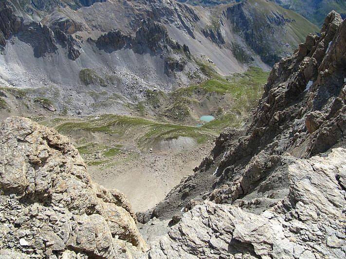 Veduta sul vallone dell'Infernetto